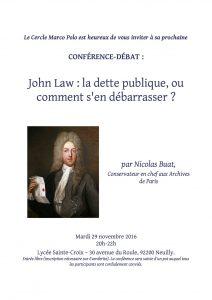 invitation John Law